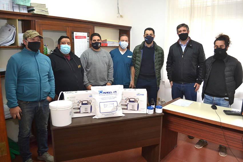 Donación al Hospital Municipal de Miramar